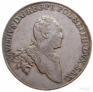 Ksawery 1764-1768 - jako administrator, talar 1768, Dre...
