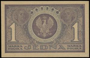 1 marka polska 17.05.1919, seria ICN, numeracja 333548,...