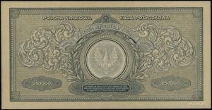 250.000 marek polskich 25.04.1923, seria CI, numeracja ...