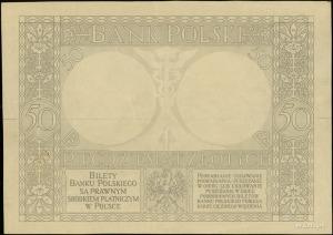 makieta strony odwrotnej banknotu 50 złotych emisji 28....