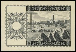 20 złotych emisja 15.08.1939, jednostronny druk strony ...