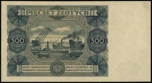500 złotych 15.07.1947, seria C3, numeracja 989663, Luc...