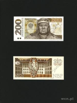 200 złotych 4.05.1992, Zygmunt I Stary, bez oznaczenia ...
