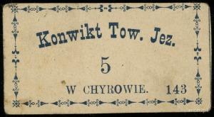 Chyrów, Konwikt Towarzystwa Jezusowego (Jezuickiego), 5...