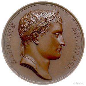zdobycie Wilna 1812, medal autorstwa Andrieu'a i Denon'...
