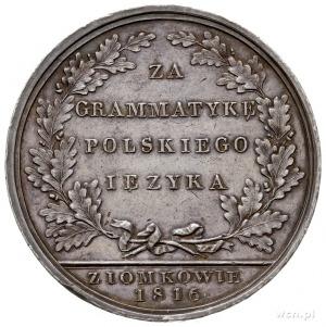 Onufry Kopczyński, medal 1816 sygnowany Bärend w Warsz:...