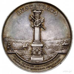Pokój Cieszyński 1779 r., medal sygnowany STIELER F, Aw...