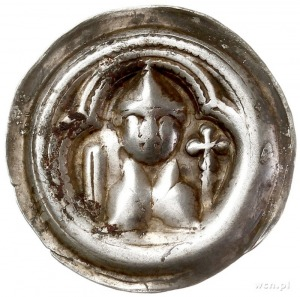 Otto Bogaty 1156-1190, brakteat; Popiersie margrabiego ...