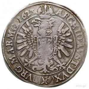 Ferdynand II 1619-1637, talar 1623, Praga, srebro 28.76...
