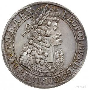 Leopold I 1657-1705, talar 1701, Hall, srebro 28.46 g, ...