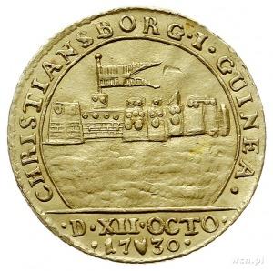 Krystian VI 1730-1746, dukat 1730 S, Kopenhaga, Aw: Mon...