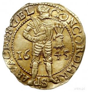 Geldria, dukat (Gouden dukaat) 1645, złoto 3.37 g, Fr. ...