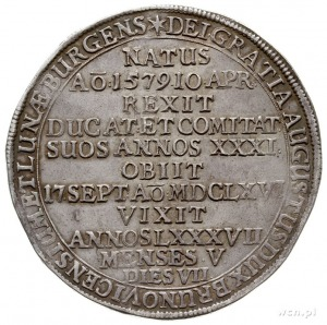 August 1635-1666, talar pośmiertny 1666, Zellerfeld, sr...