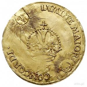 Maciej II 1612-1619, dwudukat koronacyjny 1612, Aw: Pop...
