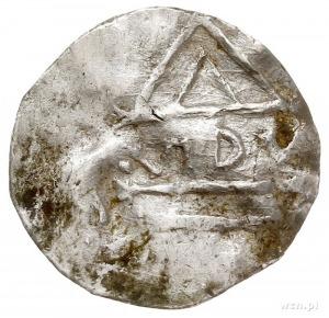denar typu bawarskiego, Aw: Krzyż z O-D-D-O w kątach, R...