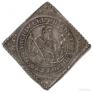 Jan Jerzy I i August 1611-1615, klipa talara 1614, Drez...