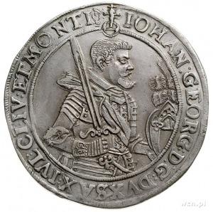 Jan Jerzy I 1615-1656, talar 1623, Drezno, srebro 28.85...