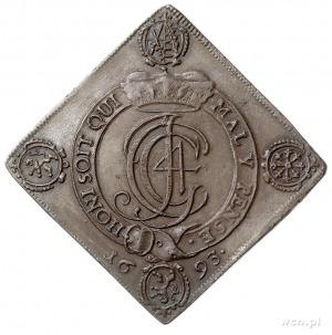 Jan Jerzy IV 1691-1694, klipa talara strzeleckiego 1693...