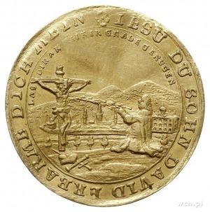 Krystian Ernest 1729-1745, dukat pośmiertny bez daty (1...