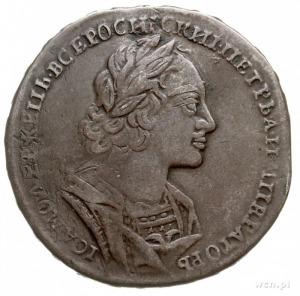 rubel 1723, Krasnyj Dvor (Moskwa), srebro 27.36 g, Bitk...