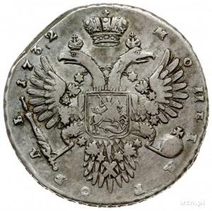 rubel 1732, Kadashevskij Dvor (Moskwa), srebro 25.03 g,...