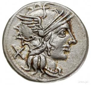 Cn. Papirius Carbo 121 pne, denar 121 pne, Rzym, Aw: Gł...