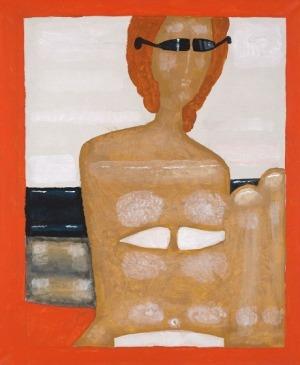 Jerzy Nowosielski, PŁYWACZKA, 1991