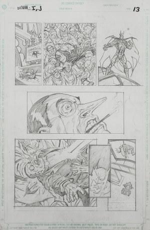 Plansza komiksowa: Batman: I, Joker, 1998