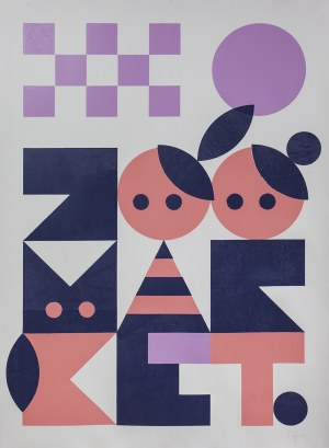 Plakat ZOO Market