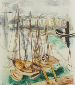 Mojżesz Kisling (1891 – 1953), Łodzie