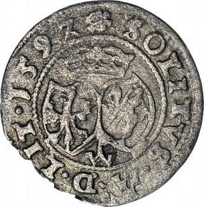 RR-, Zygmunt III Waza, Szeląg 1592 SOLITVS
