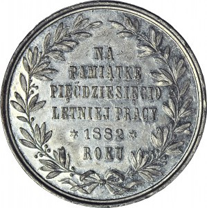 Alojzy Żółkowski, Medal 1882