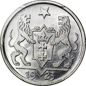 Wolne Miasto Gdańsk, 1 gulden 1923, menniczy