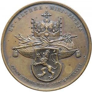 Austria, Medal koronacyjny 1836, Praga