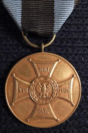 Medal Zasłużonym na Polu Chwały. Medal ustanowiony rozkazem dowódc ...