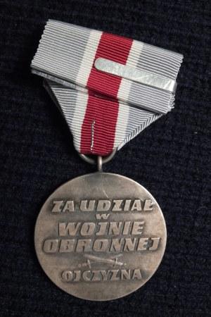 Medal Za udział w wojnie obronnej 1939. Ustanowiony ustawą z dnia 3  ...