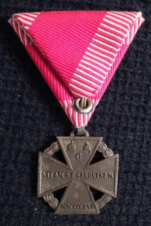 Krzyż Wojskowy Karola (niem. Karl-Truppenkreuz). Ustanowione 13 grudn ...