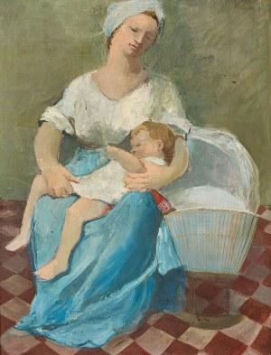 Alicja Halicka, MACIERZYŃSTWO, LATA 20-TE XX W.