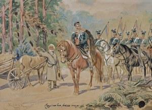 Kossak Juliusz, PYTANIE O DROGĘ, 1895