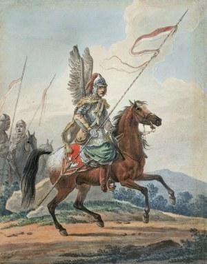 Orłowski Aleksander, HUSARZ, 1818