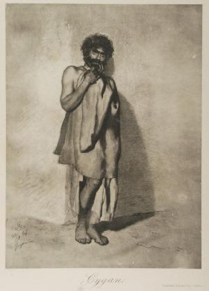 Artur GROTTGER (1837-1867) -według, Cygan