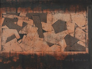 Grażyna BARTNIK (ur. 1952), Abstrakcja, 2003