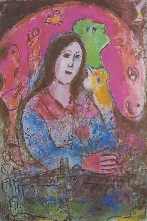 Marc CHAGALL (1887-1985) -według, Zestaw trzech prac -