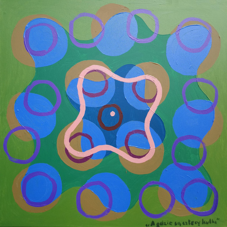 Jan Wyżykowski, A gdzie są cztery kulki? z cyklu: W perspektywie zwrotnej: dada-sur