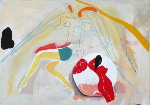 Jacek Cyganek, 1961, Anioł z ART DECO, 2018