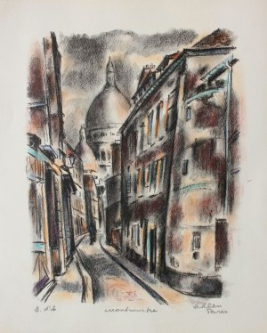 Michel Adlen (1898-1980), Montmartre