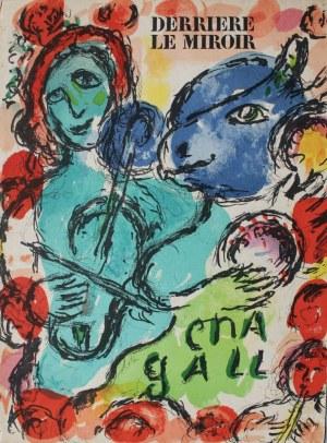 """Marc Chagall (1887-1985), Pantomime(okładka """"Derriere le Miroir"""" no 198, 1972, Mourlot #649)"""
