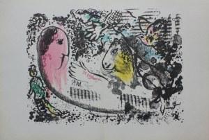 """Marc Chagall (1929-2005), Marzenie(""""Derriere le Miroir"""" no 182, 1969, Mourlot #605)"""