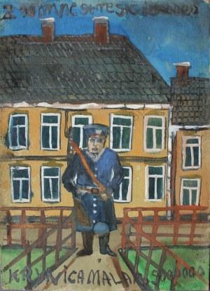 Nikifor Krynicki (1895-1968), Milicjant