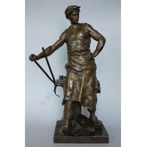 Louis Emil Picault (1833-1915), Alegoria żelaza-Kowal